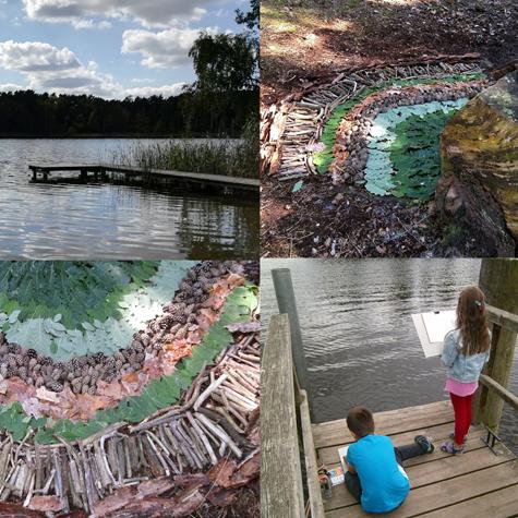 art with kids landart project