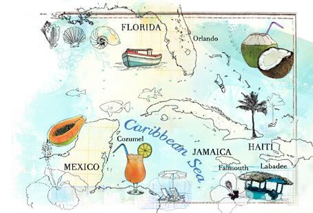 Thomas Cook magazine / caribbean